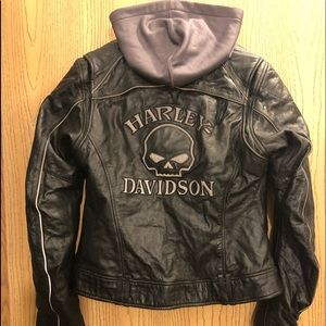 Willie G Harley Davidson Women's Learrher Jacket